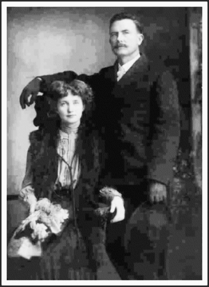 Calvin Peter Hoggard and Eva Lillian Smith