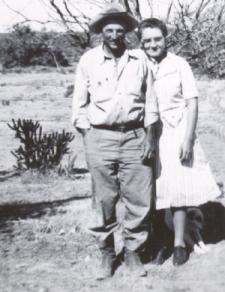 Katie and Rastus in 1947