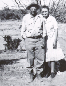 Katie and Rastus in 1947